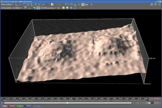 EDF surface view image
